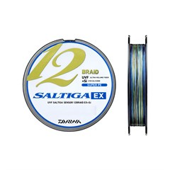 Daiwa Saltiga 12 Braid Multicolor İp Misina