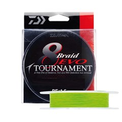 Daiwa Tournament 8B Evo Chartreuse 135m İp Misina